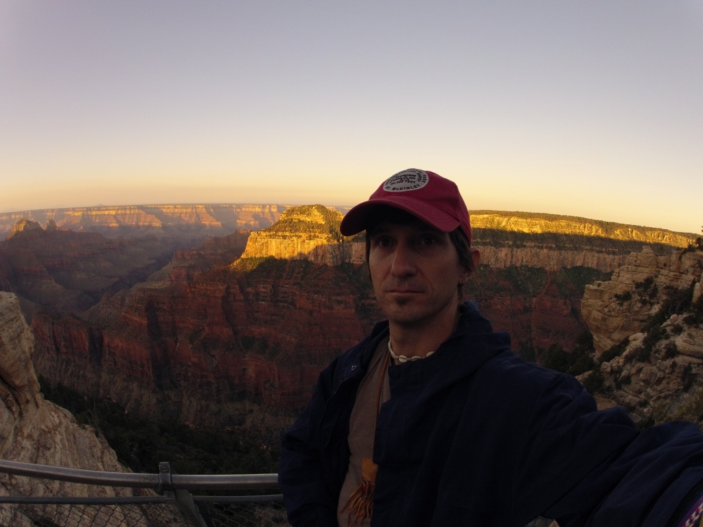On the North Rim of the Grand Canyon